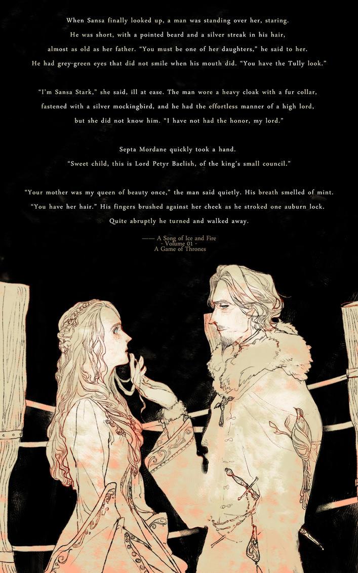 [ASOIAF]Petyr/Sansa by Wavesheep