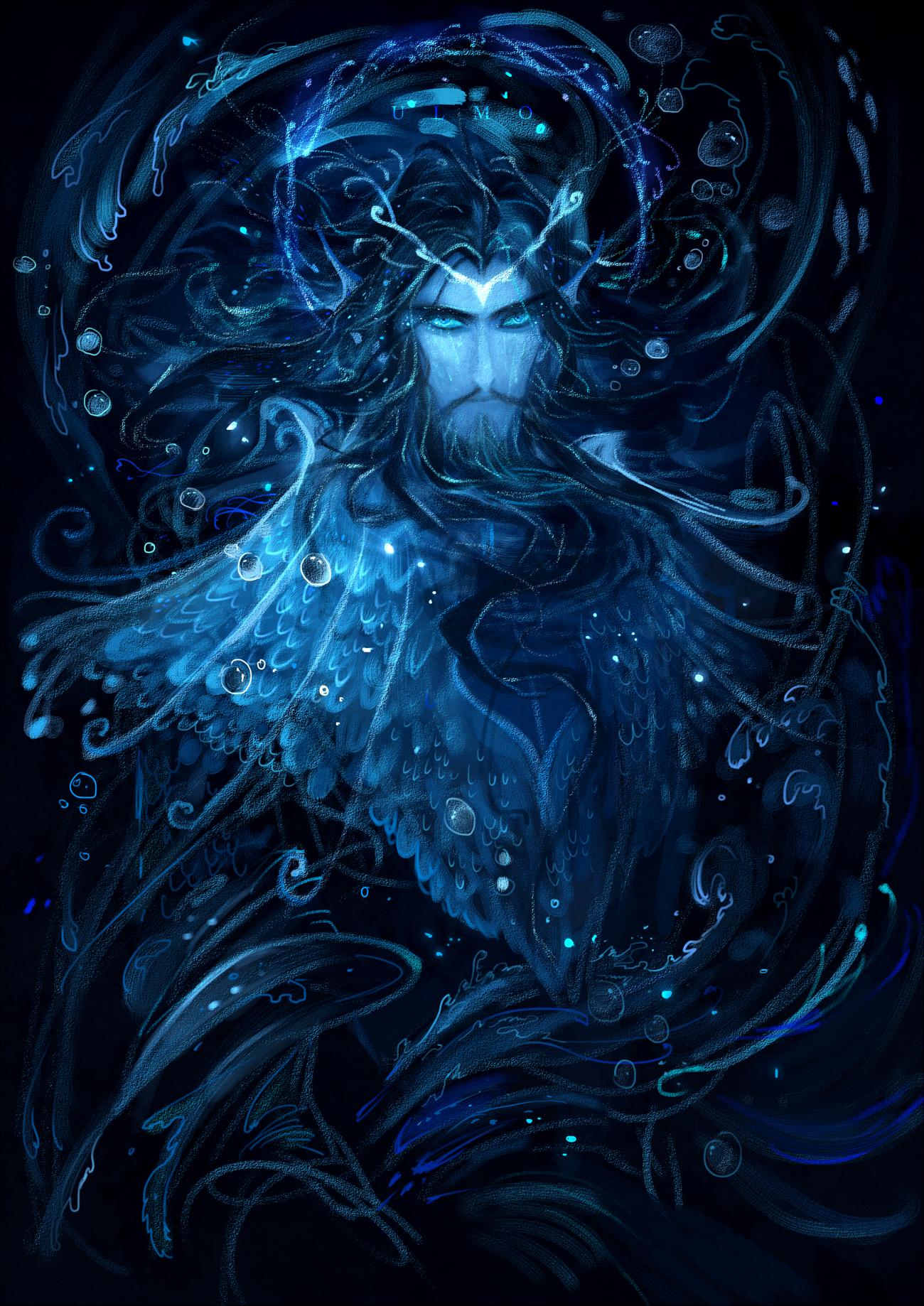 [Silmarillion]Ulmo by Wavesheep