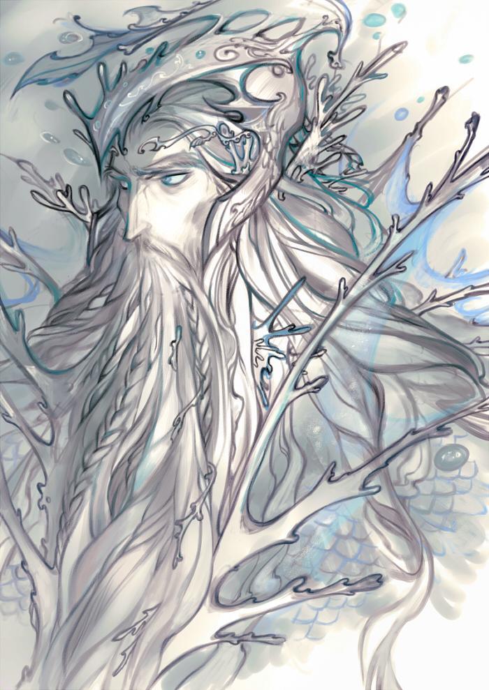 [Silmarillion]silver waves by Wavesheep