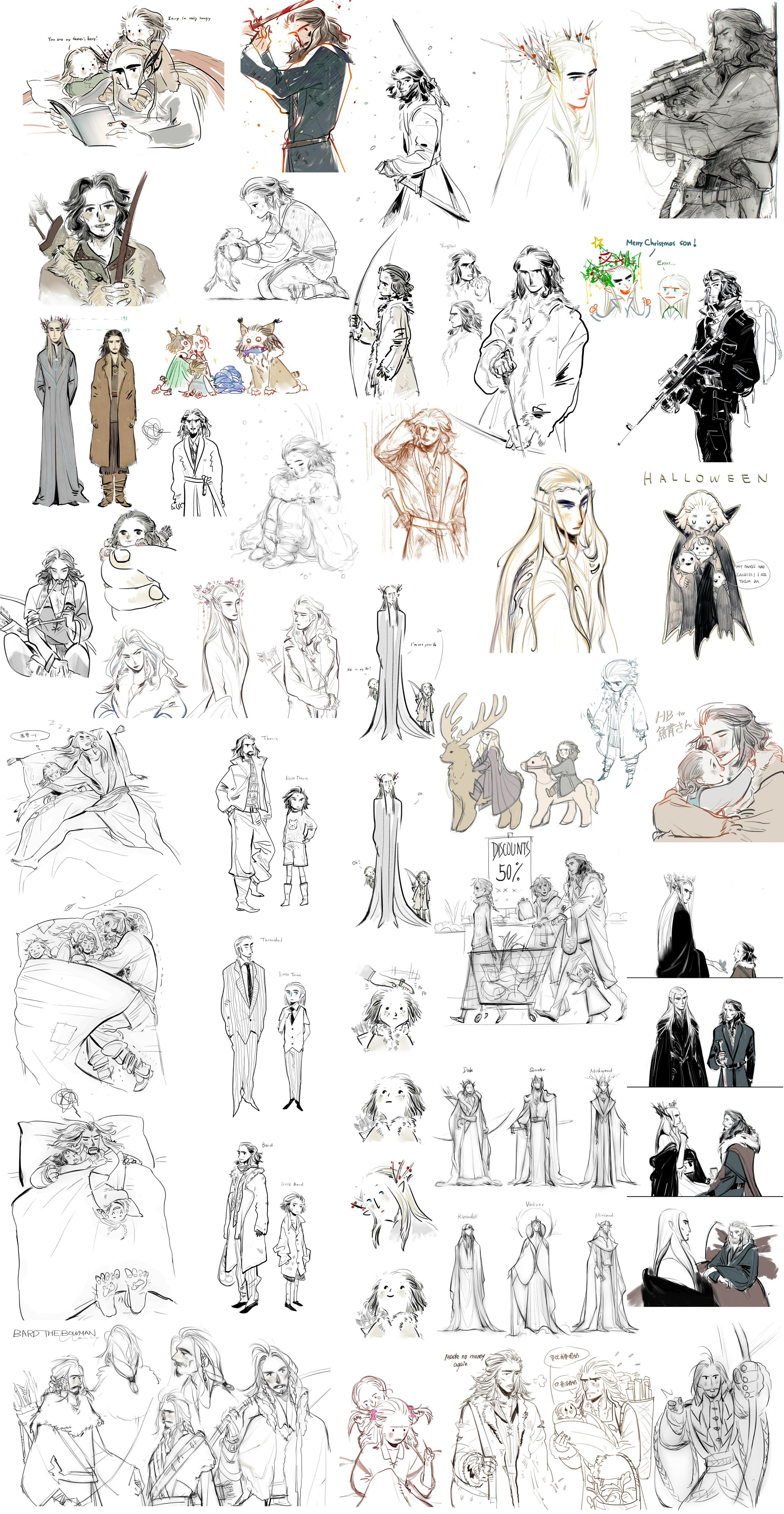 hobbit sketch by Wavesheep