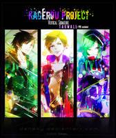 Kagerou Project Tagwall by Deneky