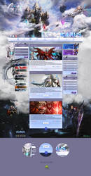 Seven steps of Icarus - Template by Deneky