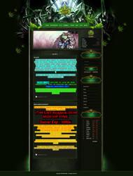 Mu Online template re-design