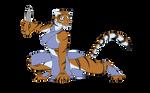 Tigress - Poised to strike