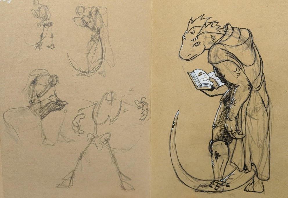 Othokent - Lizardfolk animus