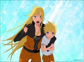 Little Naruto and Naruko
