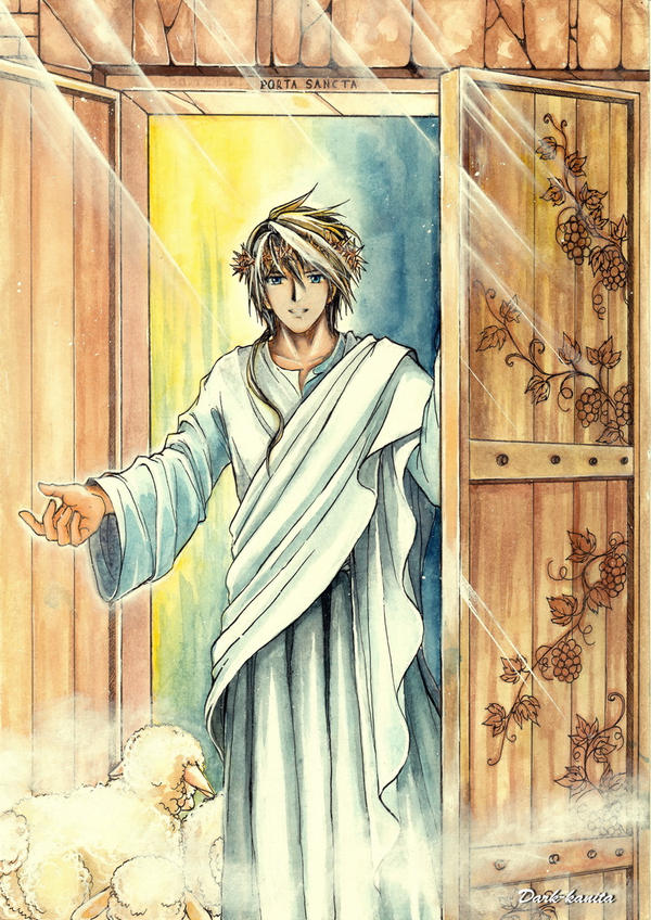 Jesus - The Holy Door by Dark-kanita ...  sc 1 st  DeviantArt : jesus door - Pezcame.Com