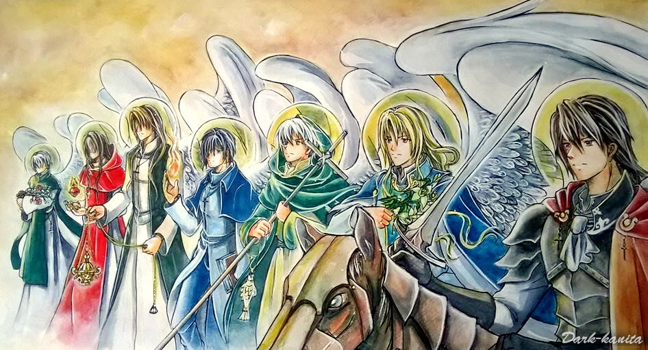The Seven Archangels  Catholic Faith Warriors