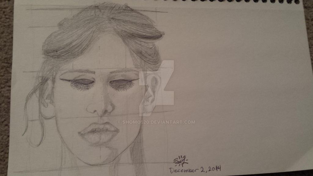 A Girl by Shomo520