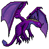 Twilight Drake Pixel by LupisDarkmoon