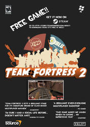 TF2 Game Advert Poster by iamjcat