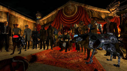 On Caesar's Throne - Fallout: New Vegas