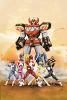 Power Rangers by cyranoone