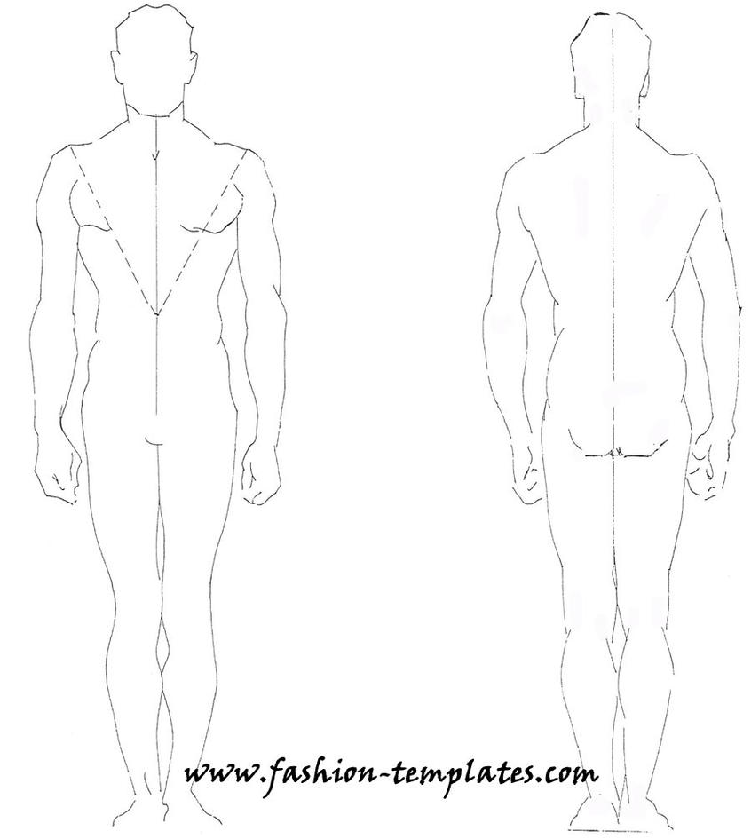 Male Body Drawing Base Images amp Pictures Becuo