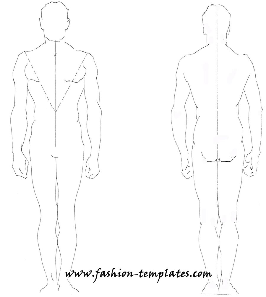 Technical Drawing-Fashion Male by dutoitm on DeviantArt