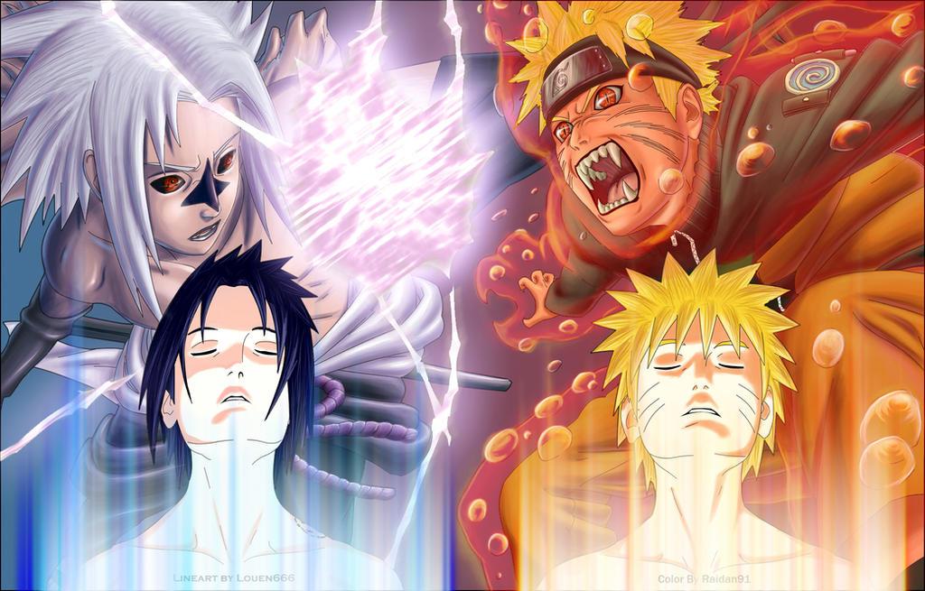 [Galerie] Naruto Versus Sasuke Chap_364_Naruto_vs_Sasuke_by_Raidan91