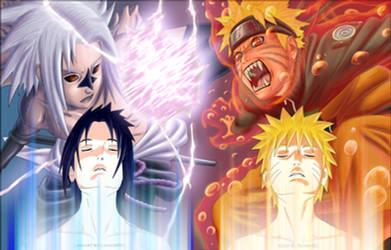 chap 364 Naruto vs Sasuke by Raidan91