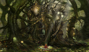 Creatures of the Woods by lllaurore
