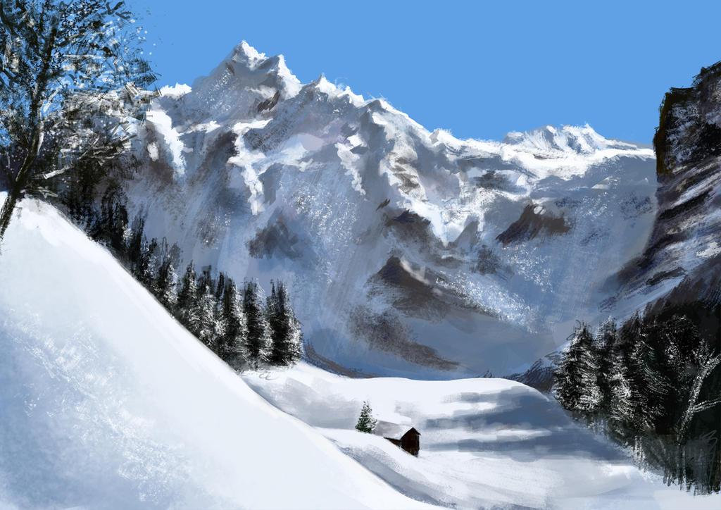 Snow landscape pictures snow landscape study by gs