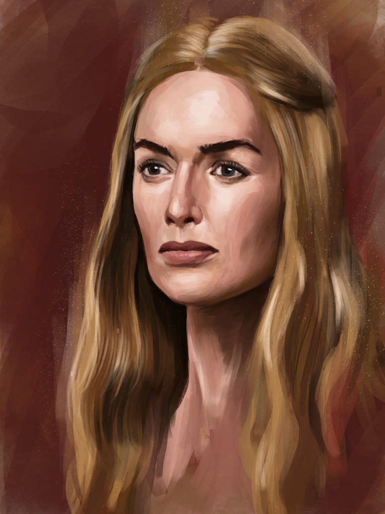 Cercei Lannister by GS-Arts