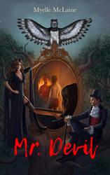 Mr. Devil Bookcover illustration for Myelle McLain