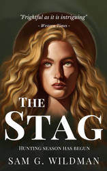 Book Cover Illustration The Stag