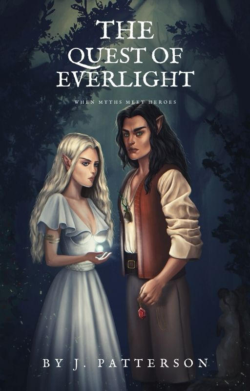 The Quest of Everlight Book Cover Illustration