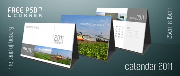 Psd Calendar 2011 By Freepsdcorner On Deviantart