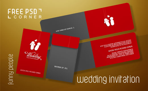 Psd wedding invitation by freepsdcorner on deviantart psd wedding invitation by freepsdcorner stopboris Gallery