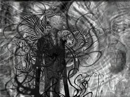 Slenderman Vs. the Gray Man by mmpratt99