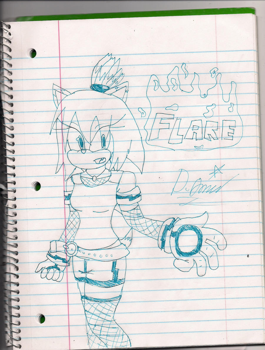 Flare the Hedgehog ::redesign:: by ProtoScene