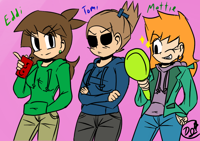Eddsworld GenderBended. by ProtoScene