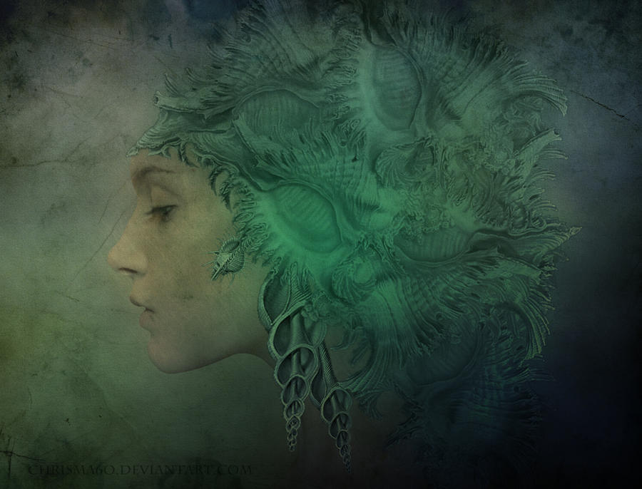 Angel Of Ocean by Chrisma60