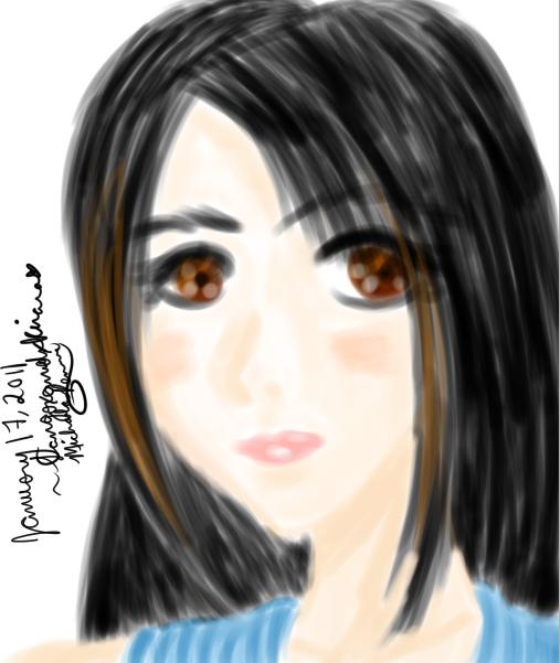 Rinoa Heartilly Portrait by SangoxandxKirara