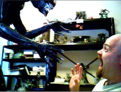 Alien VS Me by t3hr3ddr4g0n