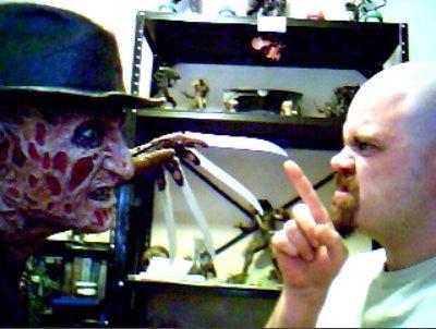 Freddy VS me by t3hr3ddr4g0n