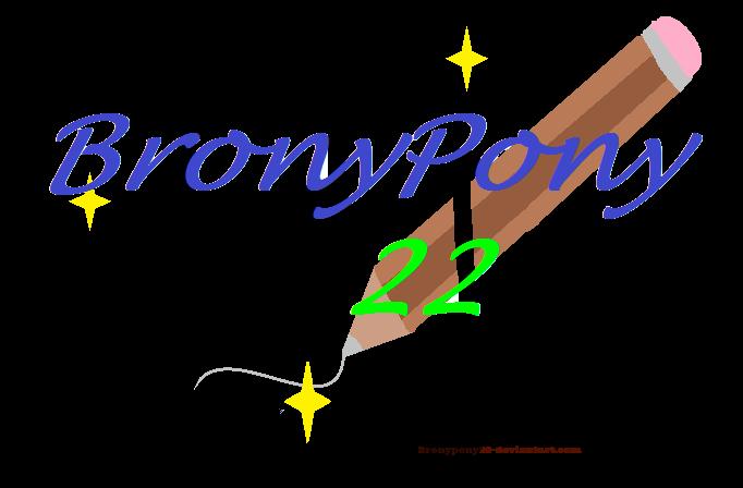 Art Watermark For Bronypony22 by RainbowGlow55555