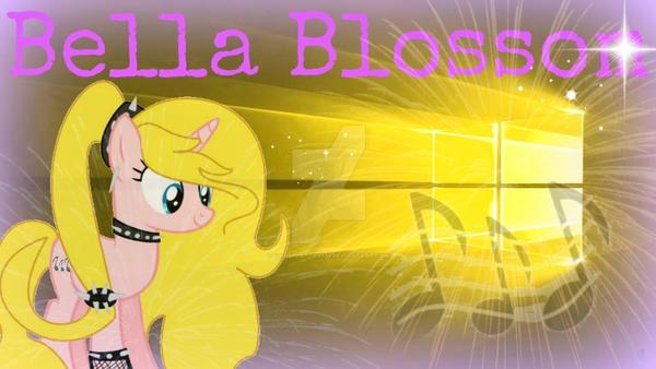 Windows 10 Wallpaper For Bella Blossom by RainbowGlow55555