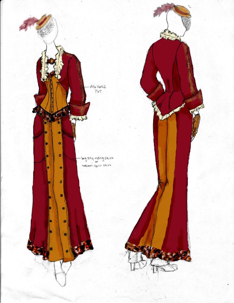 Victorian steampunk fashion design 3 by angerbunnie on deviantart - Victorian design style style ...