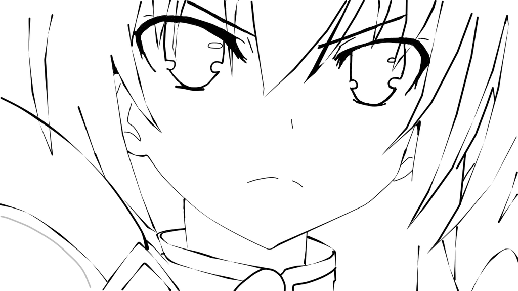 The Line Art And Living : Tohka yatogami lineart date a live by shanandrea on
