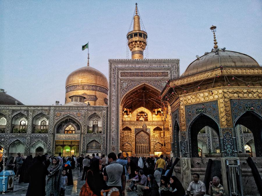 Imam Reza Holy shrine by Faiza-photography