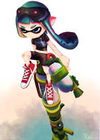 splatoon! by RubioArt