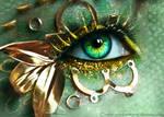 Steam Punk Dragon Eye
