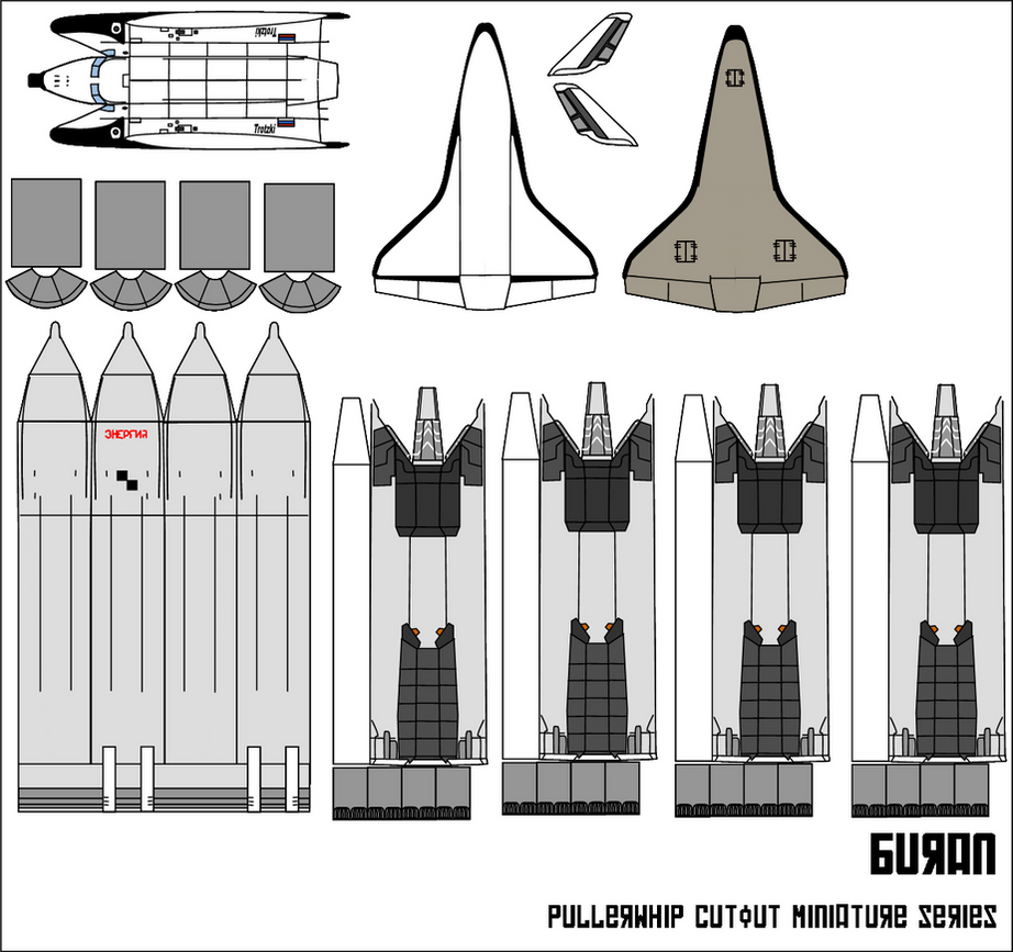 space shuttle paper patterns - photo #17