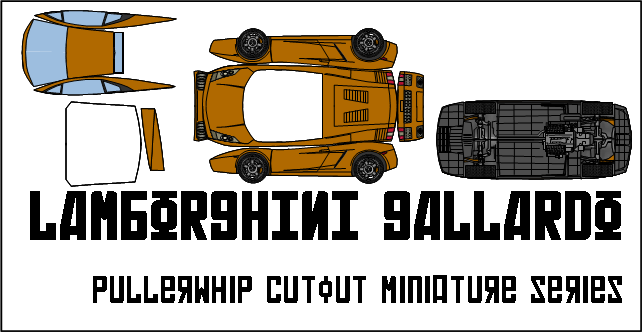 Papercraft Car Lamborghini Lamborghini ga Papercraft