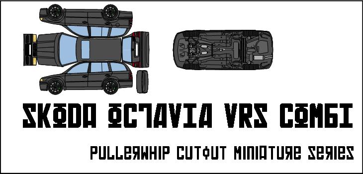 skoda octavia vrs combi by pullerwhip on deviantart. Black Bedroom Furniture Sets. Home Design Ideas