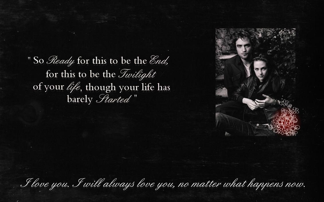 Vampire Love Quotes Wallpaper : Twilight Quotes Wallpaper. QuotesGram
