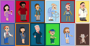 Family Guy's Recurring Characters