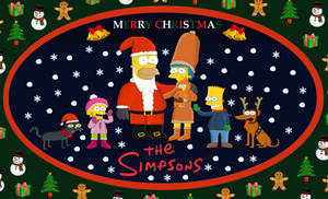 Season Greetings from The Simpsons
