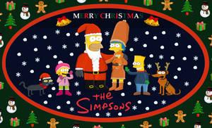 Season Greetings from The Simpsons by Hazlamglorius